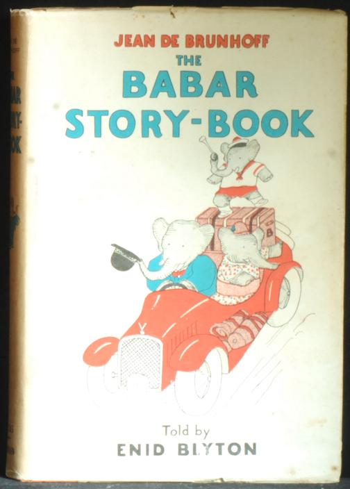 The Babar Story-Book De Brunhoff Jean Very Good Hardcover