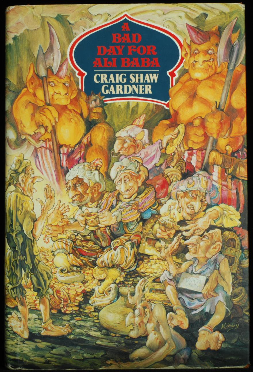 A_Bad_Day_For_Ali_Baba_Gardiner_Craig_Shaw_Very_Good_Hardcover