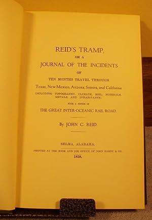 Reid's Tramp, or a Journal of the: John C. Reid