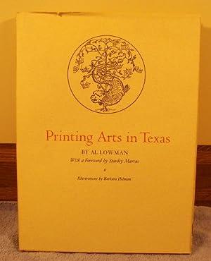 Printing Arts in Texas: Al Lowman