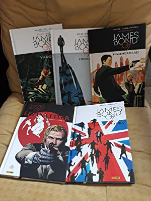 JAMES BOND 07 - LOTE DE 5 TOMOS (DE 7)