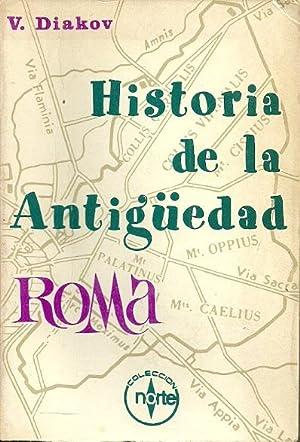 HISTORIA DE LA aNTIGÜEDAD. ROMA: Diakov, V.