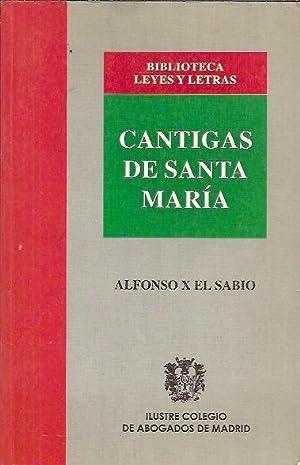 CANTIGAS DE SANTA MARÍA: Alfonso X El