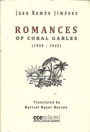 ROMANCES OF CORAL GABLES (1939-1942). Edición en: Jiménez, Juan Ramón