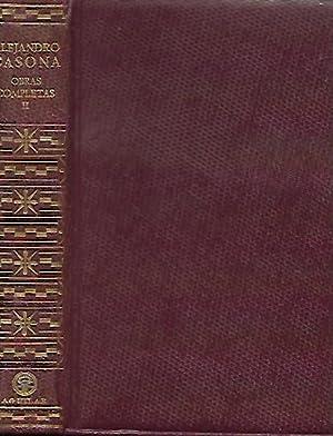 OBRAS COMPLETAS. Tomo II: Prólogo. Nuestra Natacha.: Casona, Alejandro