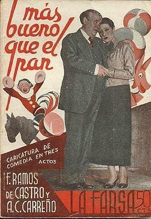 MAS BUENO QUE EL PAN. Caricatura de: Ramos de Castro,