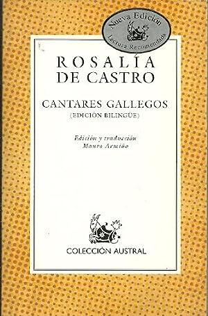 CANTARES GALLEGOS. Edición bilingüe: Rosalía de Castro
