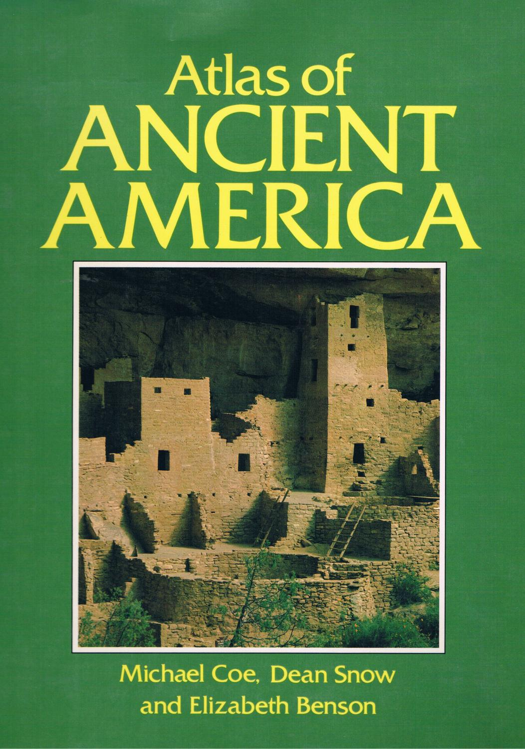 Atlas of Ancient Amerika: Michael Coe ,