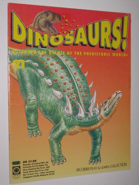 Orbis Publishing Ltd 1992 Swap It Dinosaurs Cards Series 1 Albertosaurus