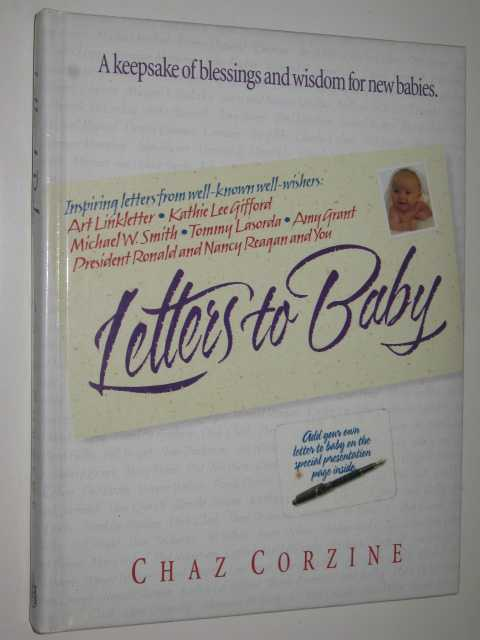 Letters To Baby A Keepsake Of Blessings And Wisdom For New Babies