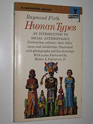 Human Types : An Introduction to Social Anthropology
