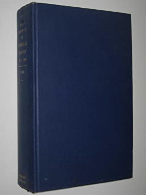 Select Documents in Australian History 1851-1900: Clark, C. M.