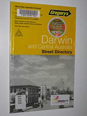 Gregory's Darwin and Central Australia Street Directory