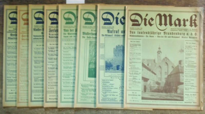 Die Mark. 24. Jahrgang 1928. Komplett mit: Mark, Die. -
