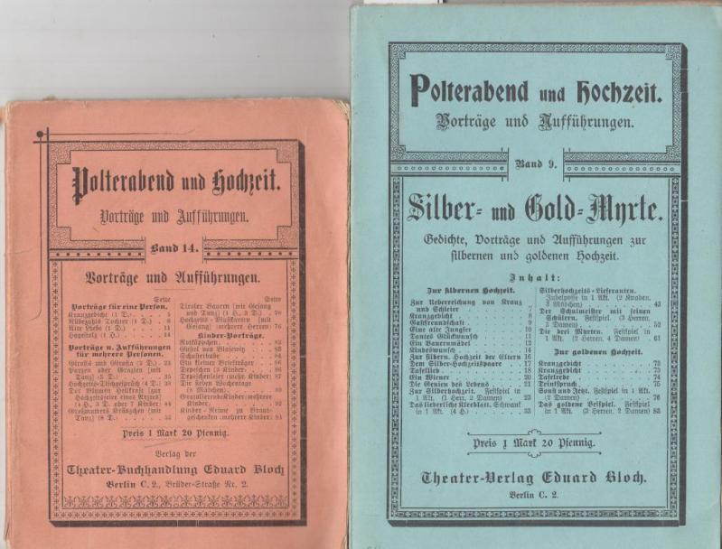 Polterabend Und Hochzeit Band 9 Silber