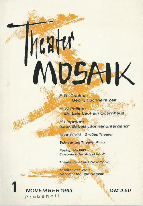 Mosaik Berlin theater mosaik berlin theater zvab