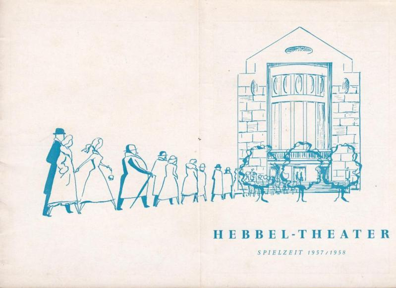 Rendezvous in Wien. Spielzeit 1957 / 1958.: Berlin Hebbel -