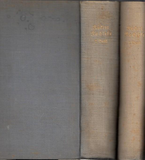 Rückert - Nachlese - Sammlung der zerstreuten: Rückert, Friedrich. -