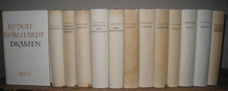 Gesammelte Werke in Einzelbänden. Komplett in 14: Borchardt, Rudolf: