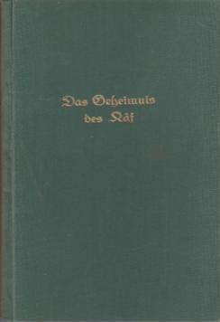 Das Geheimnis des Kaf : Abenteuer-Roman.: Blasius, Richard