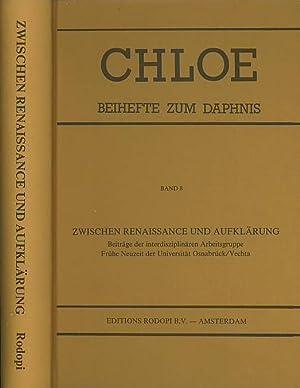 Zwischen Renaissance und Aufklärung. (= Reihe: CHLOE.: Chloe. - Garber,