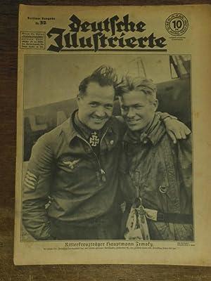 Deutsche Illustrierte. Jahrgang 18, Nummer 32, 11. August 1942. Berliner Ausgabe: Ritterkreuztr&...