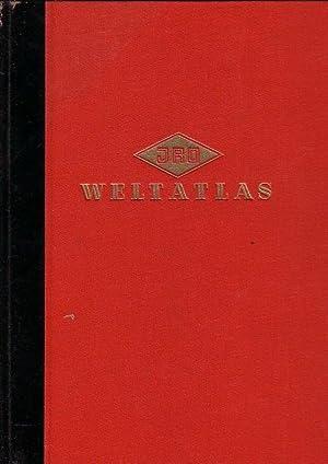 Weltatlas. Komplett in 2 Bänden. 1) Weltatlas: JRO. - Fochler-Hauke