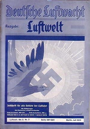 Deutsche Luftwacht. Ausgabe Luftwelt. Band 2, Nr.: Deutsche Luftwacht. -