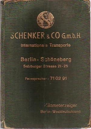 Hesse s Kilometerzeiger zwischen Berlin und allen: Hesse, Walter: