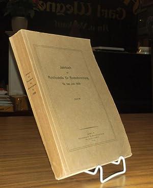 Jahrbuch der Reichsstelle für Bodenforschung für das: Bodenerforschung. - H.