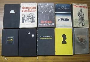Konvolut mit 10 Bänden: 1) Eine Armee: Ettighoffer, P. C.:
