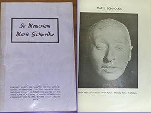 In Memoriam Marie Schmolka.: Schmolka, Marie:
