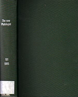 The new Phytologist. Volume 101 / 1985.: Tansley, Arthur (Founded
