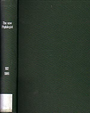 The new Phytologist. Volume 102 / 1986.: Tansley, Arthur (Founded
