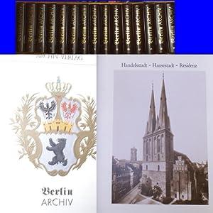 Berlin-Archiv (Hrsg.v. Hans-Werner Klünner und Helmut Börsch-Supan): BerlinArchiv herausgegeben von