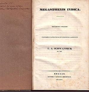 Megasthenes indica. Fragmenta collegit. Commentationem et indices: Megasthenes (um 350