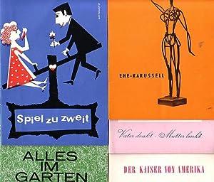 "Vater denkt-Mutter lenkt"" von Howard Lindsay und: Programmhefte. Berlin- Renaissance-Theater-"