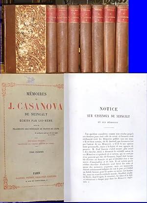 Mémoires de J. Casanova de Seingalt -: Casanova, Giacomo: