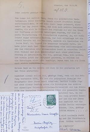 Briefwechsel zwischen Hubert Alda und Marie Schaeffer: Alda, Hubert: