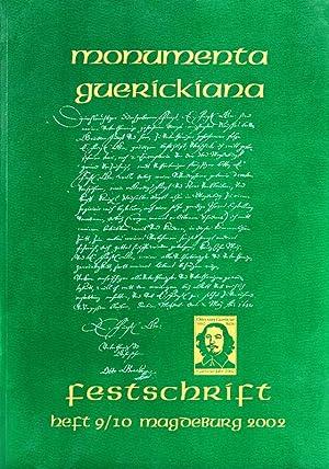 Monumenta Guerickiana : Zeitschrift der Otto-von Guericke-Gesellschaft.: Magdeburg. - Schneider,