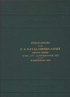 Reduction Tables for Equatorial Observations. (= Publications of the Unites States Naval Obeserva...