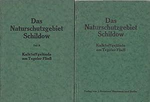 Das Naturschutzgebiet Schildow (Kalktuffgelände am Tegeler Fließ).: Berlin Tegel. -