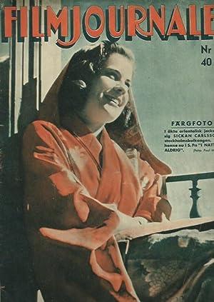 Filmjournalen. Nr. 23, 1941.: Film. -
