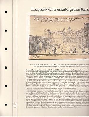 Sammlung von 5 versch. Lieferungen des Archivs: BerlinArchiv herausgegeben von