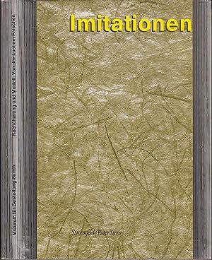 Imitationen - Nachahmung und Modell : Von: Huber, Jörg u.a.(Hrsg.):