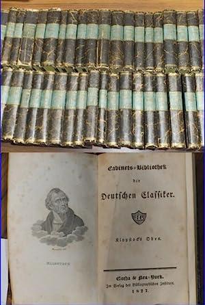 Cabinets-Bibliothek der Deutschen Classiker. Nahezu vollständige Reihe: Cabinetsbibliothek der Deutschen
