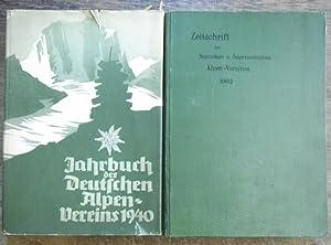 Konvolut mit 11 Jahrgangs- Bänden der Zeitschrift: Zeitschrift des Deutschen