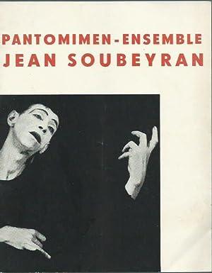 Programmheft zu: Pantomimen-Ensemble Jean Soubeyran: Ellen Dorn,: Soubeyran, Jean. -