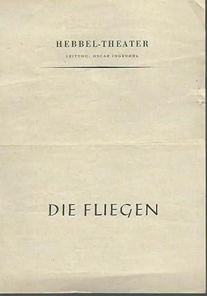 Die Fliegen. Deutsche Übersetzung von Gritta Baerlocher.: Hebbel-Theater, Berlin. Leitung: