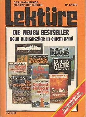 Lektüre. Das unabhängige Magazin der Bücher. Nr.: Lektüre. - Meixner,